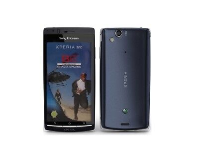Sony Ericsson XPERIA arc in Blue Handy Dummy Attrappe - Requisit, Deko, Werbung