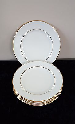 5 Salad Plates Double Gold Trim 10 Strawberry Street Monno Bangladesh (Ten Avail