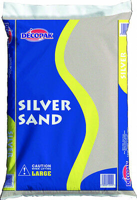 Silver Sand - Approx 20kg - Building Materials Horticultural Maxi Pack Gardening