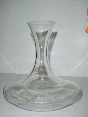 Wmf Blown Wine Carafe Decanter Easy 1 Handed Pouring Holds 750 Ml & Wine Shower