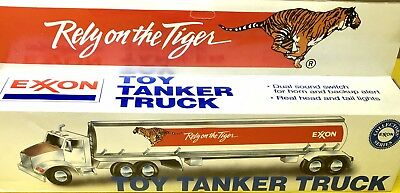 Exxon Toy Tanker Truck In Original Box