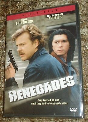 Renegades (DVD, 2004), NEW & SEALED, WIDESCREEN, REGION 1, SUTHERLAND & PHILLIPS