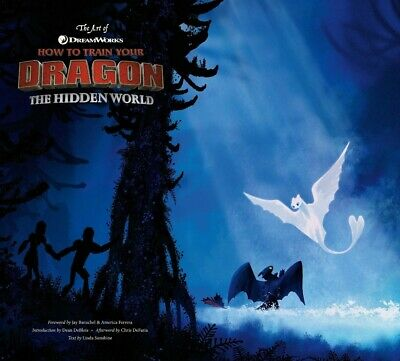 The Art of How to Train Your Dragon: The Hidden World (2019, Hardcover)