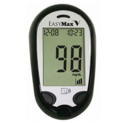NEW EasyMax V Talking Self-Monitor Blood Glucose System Meter for GlucoManager