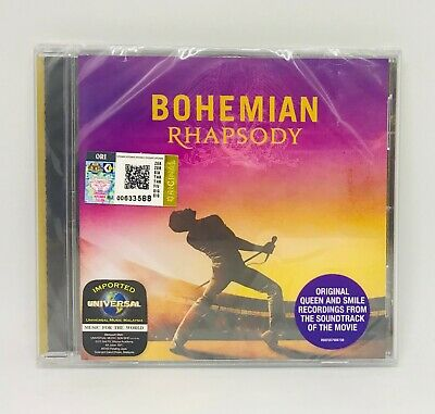 QUEEN Bohemian Rhapsody OST THE ORIGINAL SOUNDTRACK CD NEW SEALED