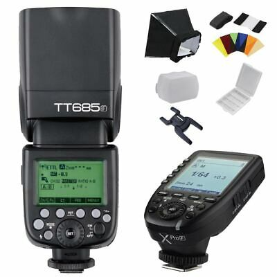 Godox TT685F 2.4G E-TTL 1/8000s Flashgun Speedlite + Xpro-F Transmitter for Fuji