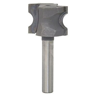 Carbide 2 Flute Router Bit Bull Nose 1/2 1/4-inch Shank Woodworking Tools