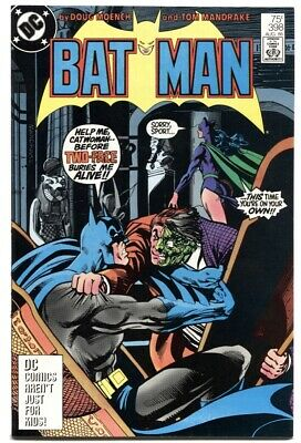 Batman #398-Catwoman-Two-Face Cover-High Grade-Nm-Dc