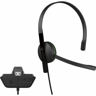 Xbox One CHAT Headset Chat Microsoft S5V-00014 S5V00014 Headset Only
