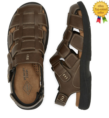 St.Johns Bay Coast Mens Strap Sandals Brown size 8 9 10 11 12 13 NEW