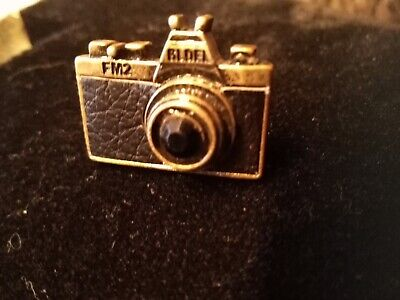 Antique Ring Shaped Like A Miniature Camera
