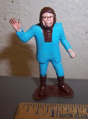 Vintage 1960s Planet of the Apes RARE Cornelius plastic Figure, NANCO brand