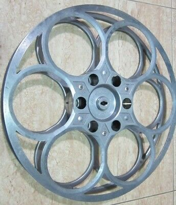 Bobina de cine de 35mm Weaver MFG. CO. Los Ángeles California.