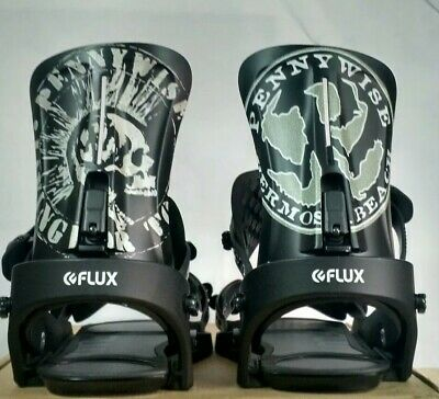 7e842fc790922 FLUX XF 2018/2019 Snowboard Binding Medium New Display Model Pennywise  Colab M