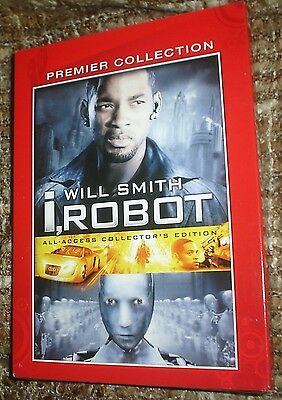 I, Robot (DVD, 2005, 2-Disc Set, Collectors Edition), NEW & SEALED, WIDESCREEN