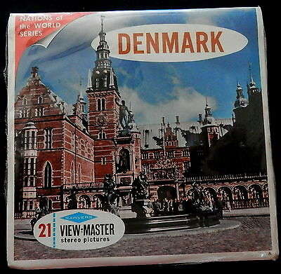 VIEWMASTER 3pk B 155 DENMARK - SEALED - UNOPENED - NEW