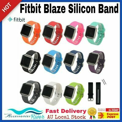 Silicone Gel Band Strap Bracelet Wristband for FITBIT BLAZE Sport - New Colors