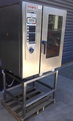 Rational Cpc 101 Three Phase Oven Combi Oven & Rack.