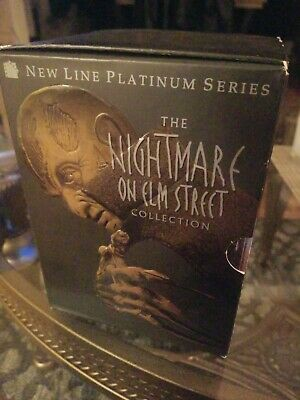 The Nightmare on Elm Street Collection (DVD, 1999, 8-Disc Set)