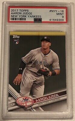 10x Aaron Judge 2017 Topps Rookie Card RC New York Yankees #NYY-16 PSA BGS 10 ?