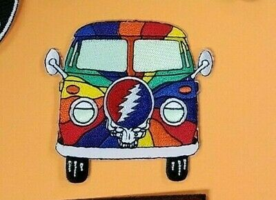 Grateful Dead Van Embroidered Patch !