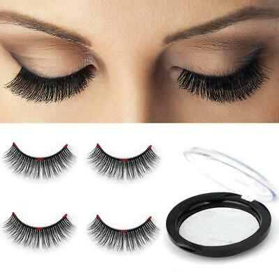 Longer Triple 3D Magnetic Eyelashes [No Glue] Premium Quality False Set for...