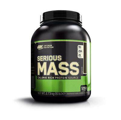 Optimum Nutrition Serious Mass Weight Gainer Whey Protein Powder with...
