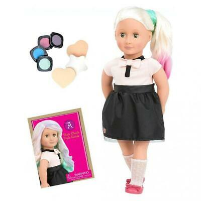 Our Generation 70.31084 Amya-Doll with Chalk Deco Hair Multi-Coloured, 18...
