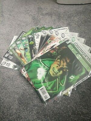Green Lantern Emerald Warriors Issues 1-13  Complete Set DC Comics Brightest Day