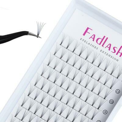 7bdfacbfff7 Russian Lashes 5D 0.10mm C Curl Cluster Individual Eyelash Extensions Knot.