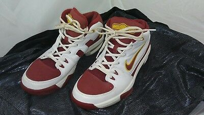 NIKE AIR MAX Battle Grounds 308637 161 Size 9 Shoes Cleveland Cavaliers  Colorway 273d95cf3