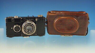 Zeiss Ikon Contax I mit Carl Zeiss Tessar 2.8/50mm vintage camera  - (30296)