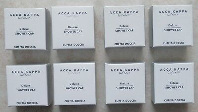 8 ACCA KAPPA Since 1869 Deluxe Shower Cap One Size Protect & Cover All Hairs