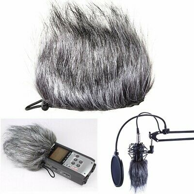Fur Windscreen Windshield Wind Muff for Recorder Zoom H2N H4N Microphone Mic ❤