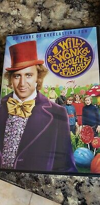 Willy Wonka and the Chocolate Factory NEW (DVD, 40th Anniversay) Gene Wilder