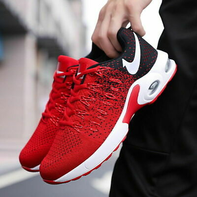 Mens Sneakers Air Cushion Fashion Casual Shoes Flyknit Flywire Athletic Sports/