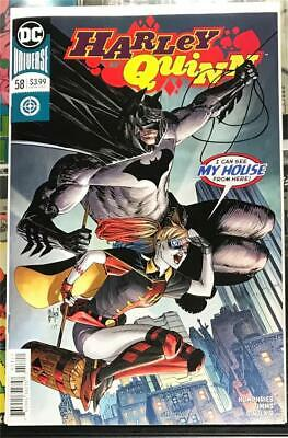 Harley Quinn #58 - Batman Appearance - DC Comics 2019 - 1st Print Unread NM