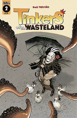 Tinkers Of The Wasteland #3 - 1St Print - (Scout Comics) Boarded. Free Uk P+P!