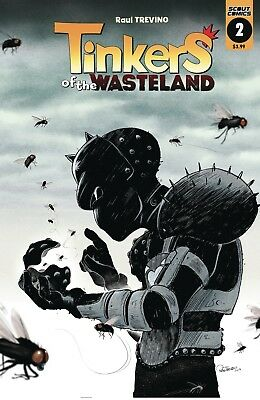 Tinkers Of The Wasteland #2 - 1St Print - (Scout Comics) Boarded. Free Uk P+P!