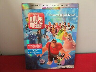 Ralph Breaks the Internet (Blu-ray, DVD, DIGITAL) BRAND NEW, SEALED