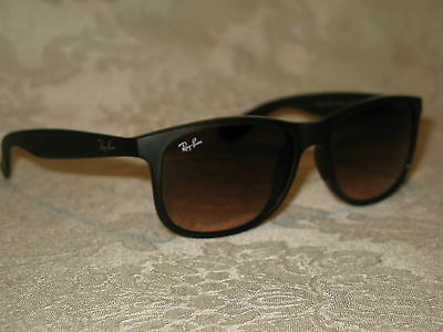 a5b1808cdd8ab RAY BAN AUTHENTIC ANDY SUNGLASSES RB4202 6071 4V MATTE VIOLET MIRROR ...