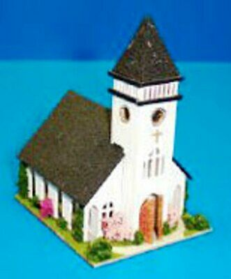 1:144 Scale Dollhouse Miniature Old Time Firehouse Fire Station Kit