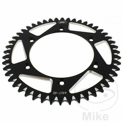 JMP Black Aluminium Rear Sprocket (48 Teeth) Husqvarna TE 450 ie 2009