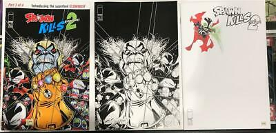 Spawn Kills Everyone Too #3 Variant Lot (3) Image 2019 1st Print Unread NM