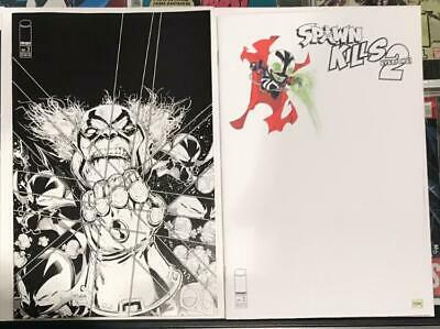 Spawn Kills Everyone Too #3 Variant Lot (2) Image 2019 1st Print Unread NM