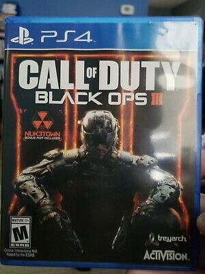 Playstation 4 Call of Duty Black Ops III 3 PS4 Authentic