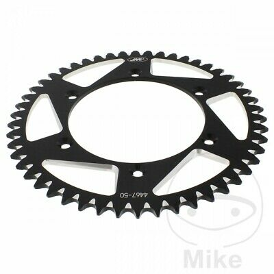 JMP Black Aluminium Rear Sprocket (50 Teeth) Husqvarna TE 450 ie 2009