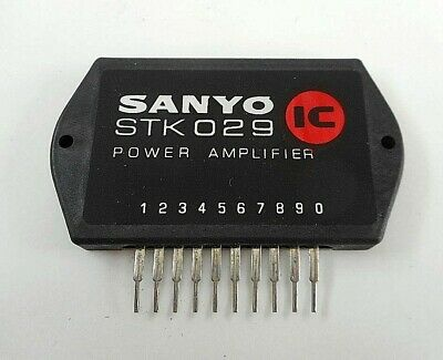 Pleasant Stk 029 Original Sanyo Audio Ic Power Amplifier Integrated Circuit Wiring Cloud Hisonuggs Outletorg