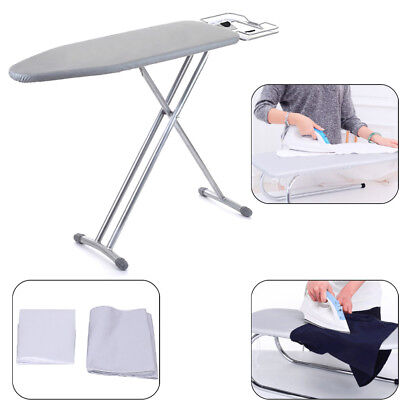 Universal silver coated ironing board cover & 4mm pad thick reflect heat  3c