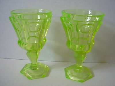 1850`S Fedorovsk Brothers Factory Dessert  Goblets or Coupes